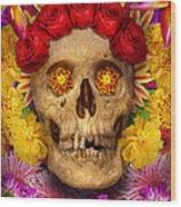 Day Of The Dead - Dia De Los Muertos Wood Print