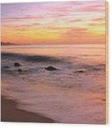 Daybreak Seascape Wood Print