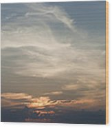 Daylight Approaches Wood Print