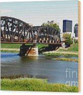 Dayton Ohio Wood Print