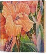 Dazzling Wood Print