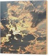 Dazzling Sunset Wood Print