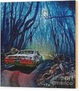Dead End Wood Print