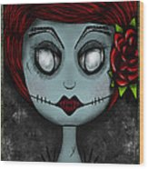 Death Becomes Her Wood Print