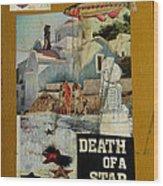 Death Of A Star Wood Print by Adam Kissel