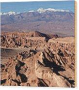 Death Valley - San Pedro De Atacama - Chile Wood Print