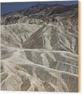 Death Valley Wood Print