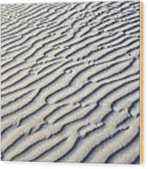 Death Valley Dune  Wood Print