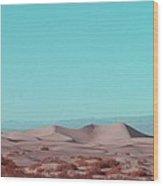 Death Valley Dunes 2 Wood Print