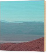 Death Valley View 2 Wood Print