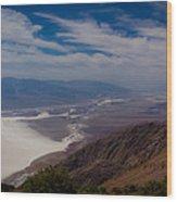 Death Valley Vista Wood Print