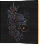 Deathblooms Wood Print