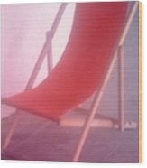 Deauville Chair Wood Print