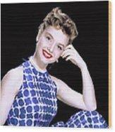 Debbie Reynolds, C. 1950s Wood Print