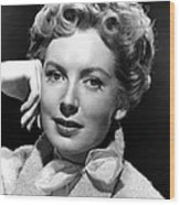 Deborah Kerr, C. Early-mid 1950s Wood Print