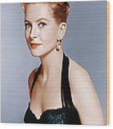 Deborah Kerr, Ca. 1959 Wood Print by Everett