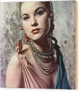 Debra Paget, Ca. Early 1950s Wood Print by Everett