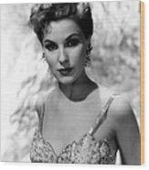 Debra Paget, Ca. Mid-1950s Wood Print