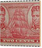 Decatur And Macdonagh Postage Stamp Wood Print