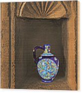 Decorative Carafe In An Alcove Wood Print