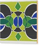 Decorative Tile Wood Print