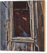Decrepit Wood Print