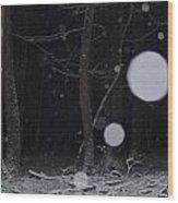 Deep Dark Quiet Wood Print