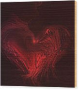 Deep Hearted Wood Print