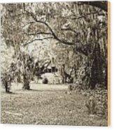 Deep South Wood Print