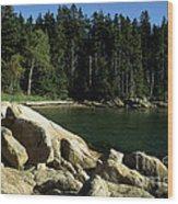 Deer Isle Maine Wood Print