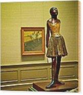 Degas Wood Print