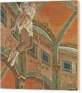 Degas: Miss La La Wood Print