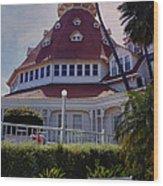 Del Coronado Hotel San Diego  Wood Print