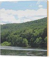 Delaware Water Gap Scenery Wood Print