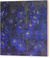 Delft Blues Wood Print
