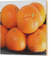 Delicious Cara Cara Oranges Wood Print
