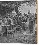 Denmark: Fishermen, 1901 Wood Print