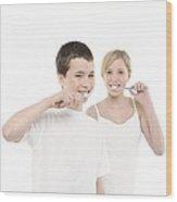 Dental Hygiene Wood Print