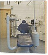 Dentist Chair Wood Print