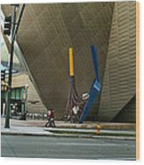 Denver Art Museum - Exterior 2010 Wood Print