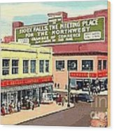 Department Stores In Sioux Falls S D Wood Print