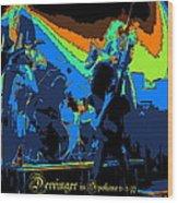 Derringer Rock Spokane 1977 Wood Print