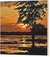 Deschenes Sunset Wood Print