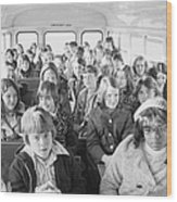 Desegregation: Busing, 1973 Wood Print