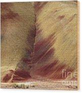 Desert Brushstrokes Wood Print