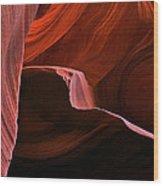 Desert Depths Wood Print