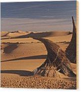Desert Luxury Wood Print