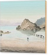 Desert Mirage, 1854 Artwork Wood Print