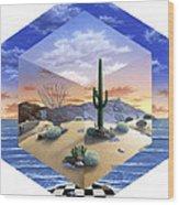 Desert On My Mind 2 Wood Print