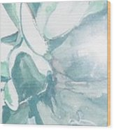 Desert Plant Wood Print